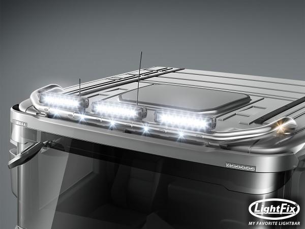Dachlampenbügel für Scania C20 Low Cab 1